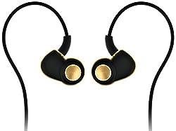 SoundMagic PL30+ In the Ear Isolating Headphones Black Gold