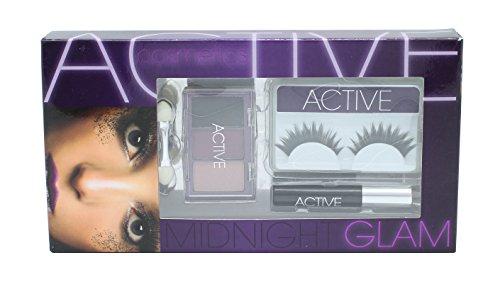 Active Glamour Midnight Workshop 2 - Ciglia Finte e Colla + Mascara + 3 x Ombretti e Applicatore