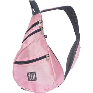 FUL Peabody Mini Sling Bag, Pink