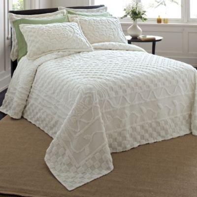 Train chenille bedspreads