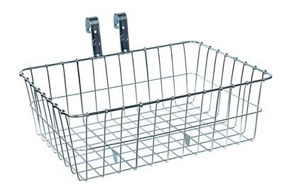 Wald 139 Front Bicycle Basket (18 X 13 X 6, Silver) front-934371