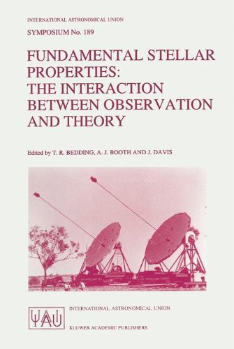 Fundamental Stellar Properties: The Interaction between Observation and Theory (International Astronomical Union Symposi