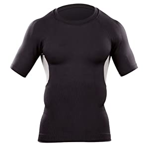 5.11 #40001 Muscle Mapping Short Sleeve Shirt (Black, XX-Large)