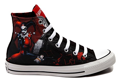 Converse All Star Harley Quinn fashion Sneaker athletic walking shoes unisex