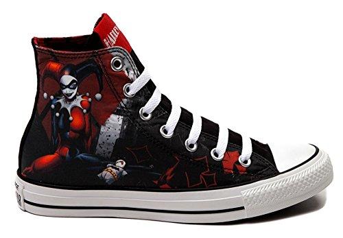 b8cba36f4a24 Converse All Star Harley Quinn fashion Sneaker athletic walking shoes unisex