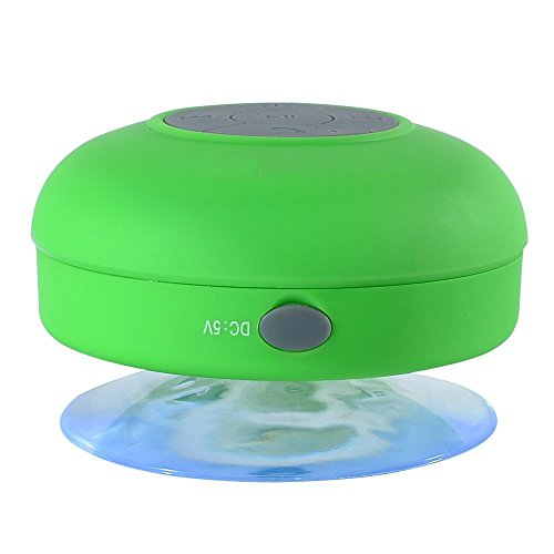 Wireless Bluetooth Speaker Stereo Portable Built In Hands Free Speakerphone And Rechargable Battery,Clear And Crispy Sound Quality,Works With Iphone Ipad Ipod,Mp3 Player,Tablet,Laptop,Computers And Any Bluetooth Enabled Device,Support 3.5Mm Audio Cable Co