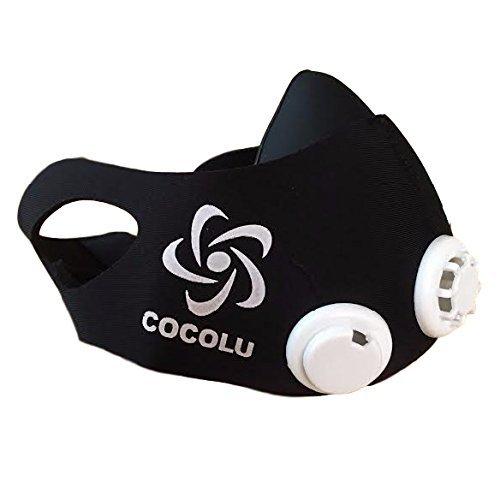 Cocolu(ココル) メディアで話題!トレーニングマスク 酸素強化マスク ...