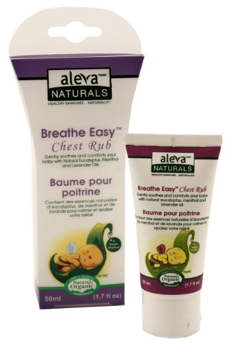 Breathe Easy Natural Chest Rub for Infants by