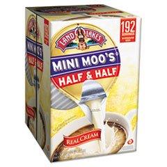 Mini Moo'S Half & Half, .5 Oz, 192/Carton