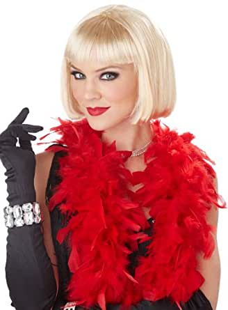 California Costumes Women's Classic Flapper Wig, Blonde, One Size