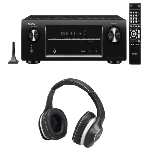 Denon Avr-X4000 In-Command 7.2-Channel 4K Home Theater Receiver With A Free Pair Of Denon Ah-D600 Music Manian Headphones