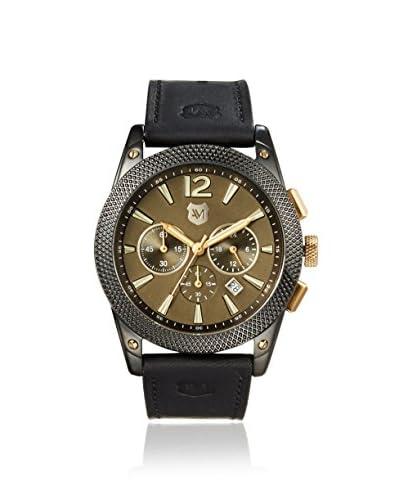 Andrew Marc Men's A11407TP Gentleman Collection Black/Gunmetal Watch