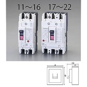 【クリックで詳細表示】EA940MN-13 AC100-230V/30A/2極漏電遮断器(フレーム50)