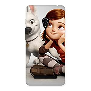 Ajay Enterprises Wo Bolto Multi Back Case Cover for Zenfone 5