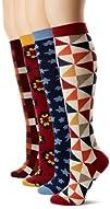 PACT Womens 4-Pair Pack Knee Socks