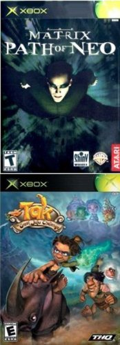 Xbox 2 Pack: Matrix The Path Of Neo + Tak The Great Juju Challenge front-255072