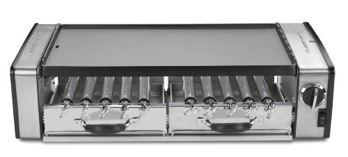 Cuisinart Gc-17N Griddler Grill Centro 1700-Watt 2-Tier Grill/Griddle With Rotating Skewers