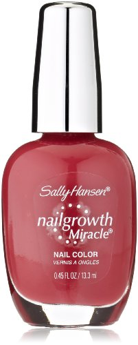 Sally Hansen Nail Growth Miracle, Beautiful Berry, 0.45 Fluid Ounce