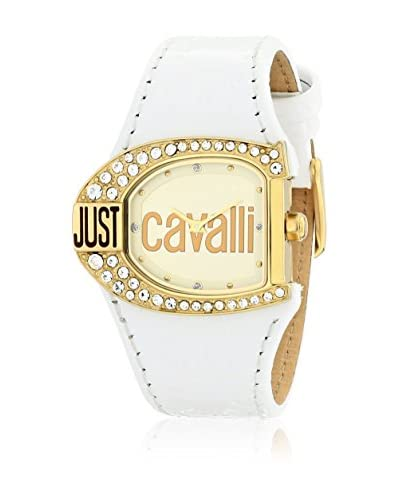 Just Cavalli Reloj de cuarzo Woman Jc Logo Blanco 29x36 mm