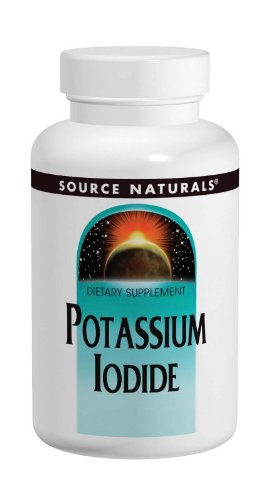 Source Naturals Potassium Iodide 32.5mg, 120 Tablets