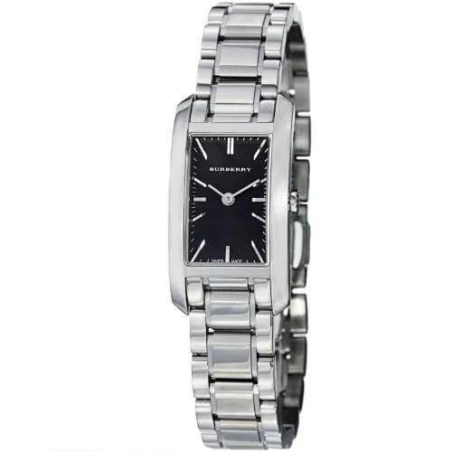 Burberry Check Engraved Rectangle Ladies-small 