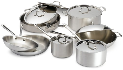 All-Clad Master Chef 2 14 Piece Cookware Set