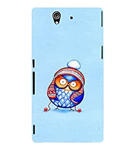 EPICCASE Curious owl Mobile Back Case Cover For Sony Xperia Z (Designer Case)