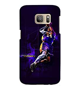 GADGET LOOKS PRINTED BACK COVER FOR SAMSUNG GALAXY S7 EDGE MULTICOLOUR