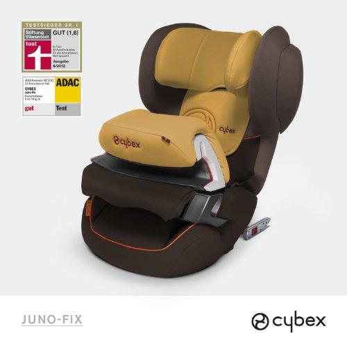 Cybex Autositz Juno Fix Candied Nuts-brown