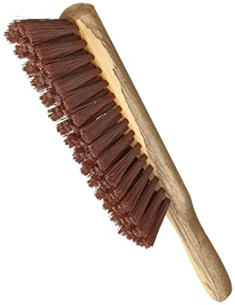 """Magnolia Brush 52 Heavy Duty Mill Duster, Plastic Bristles, 1-3/4"""" Trim, Bristle 8"""" Length x 1-3/4"""" Width, 13"""" Overall Length, Brown (Case of 12)"""