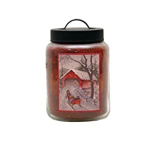 Goose Creek 26-Ounce Pumpkin Jar Candle with Goose Creek Holiday Design