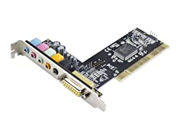 Syba 5.1 Audio PCI Sound Card with Game Port C-Media Chipset SD-PCI63058