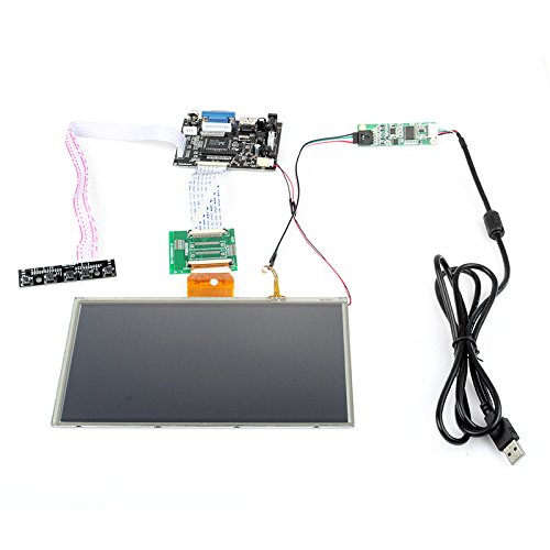 "Sainsmart Hdmi/Vga Digital Lcd Driver Board With Touch Screen For Raspberry Pi (9"")"