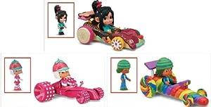 Amazon.com: Wreck-it Ralph Vanellope Von Schweetz & her Candy Kart (3