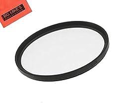 52mm Multi-Coated UV Protective Filter For Nikon 18-55mm f/3.5-5.6G ED AF-S DX Nikkor Zoom Lens + Cap Keeper + MicroFiber Cleaning Cloth