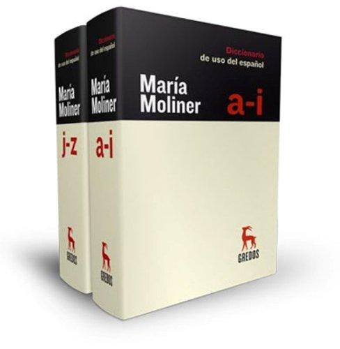 Diccionario de Uso del Español (2 Volumes) [Maria Moliner] (Tapa Dura)