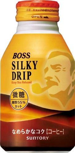 サントリー コーヒー ボス シルキードリップ 微糖 260g×24本