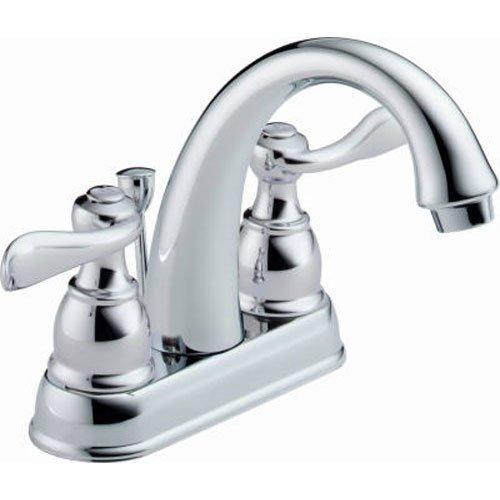 Delta Windemere B2596LF Two Handle Centerset Lavatory Faucet, Chrome (Faucets Chrome compare prices)