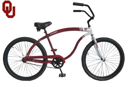 Oklahoma Sooners Men's Cruiser Bike