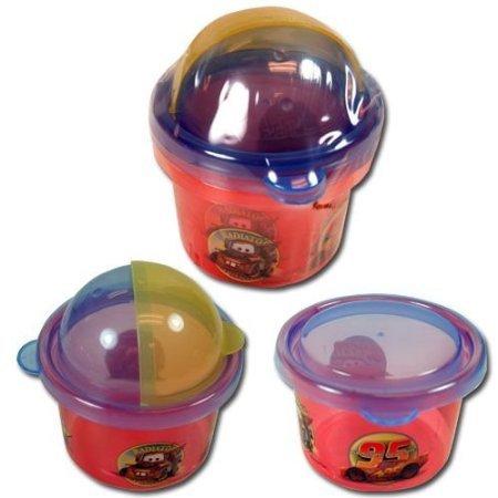 Disney Cars 2pk Snack Storage Containers Zak Paks