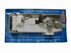 Amco Swing-A-Way 609WH Magnetic Wall Can Opener, White by Swing-A-Way