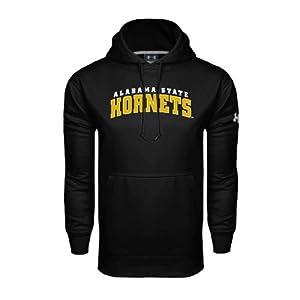 Alabama State Under Armour Black Performance Sweats Team Hood