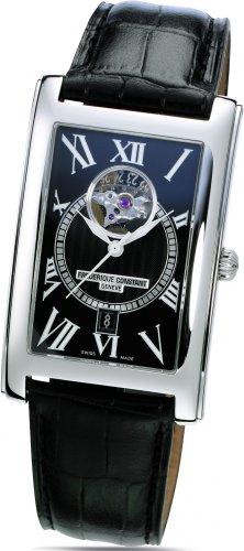 Frederique Constant Geneve Carree FC315BS4C26 Reloj elegante para hombres Volante Abierta