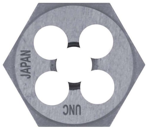 Century Drill and Tool 96302 High Carbon Steel National Pipe Hexagon Die, 1/4-18 NPT
