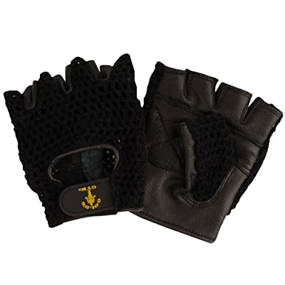 GOLDS GYM Mesh Back Weight Gloves - Black from Golds Gym