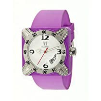 Deepest Lady Ladies Watch in Purple with Silver Bezel