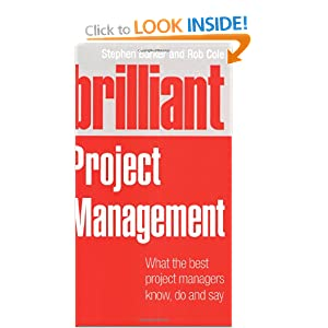 Brilliant Project Management by Stephen Barker and Rob Cole PDF eBook