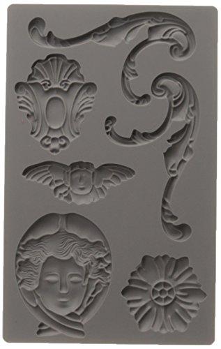 Prima Marketing 814779 Baroque No.1 Iron Orchid Designs Vintage Art Decor Mold, Grey (Vintage Irons compare prices)