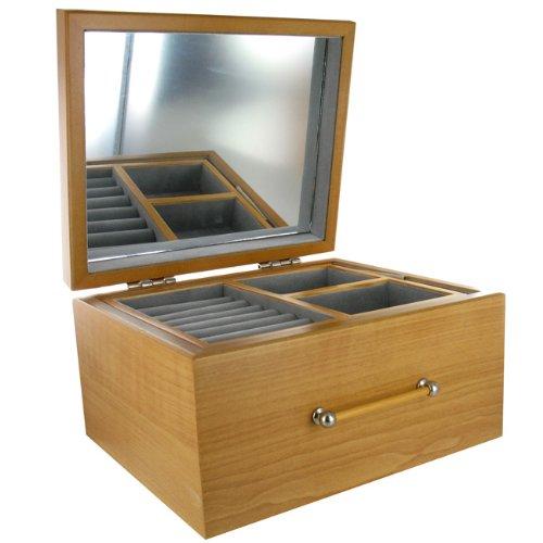 Mele - Wooden Jewellery Box
