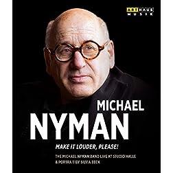 Michael Nyman: Make it Louder, Please! [Blu-ray]